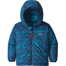 Patagonia Reversible Down Jacket Children blue